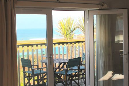 Coral Bay Patio Beautiful views and sunsets over Fistral