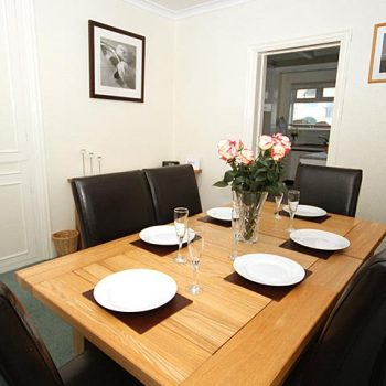 Earlshall House separate Dining area
