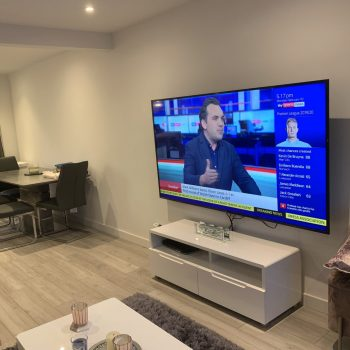 TV 75 inch screen with sky Tv inc Sky sports and BT sport