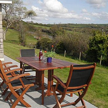 Great countryside views from the garden