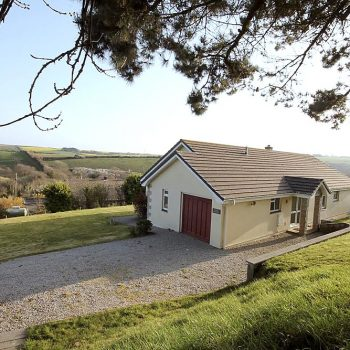 A detached bungalow with rural views and only a ten minute drive into Newquqy