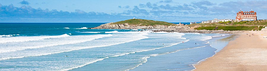 Fistral on Self catering holidays in Newquay
