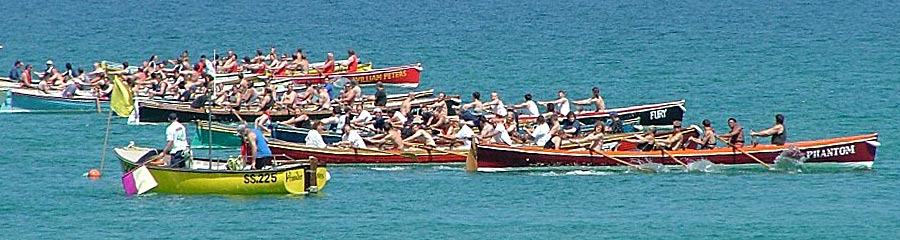 Rowing on Self catering holidays in Newquay