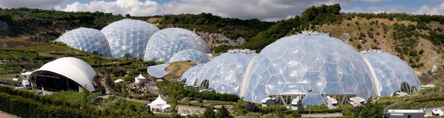 Eden Project on Self catering holidays in Newquay