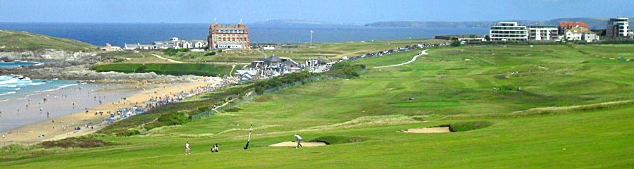 Golf on Self catering holidays in Newquay