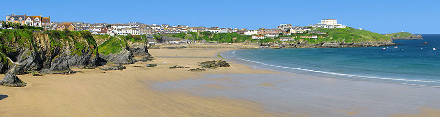 Beach on Self catering holidays in Newquay