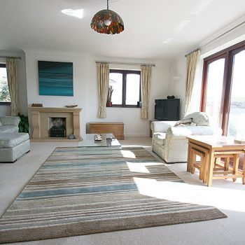 Quay House Large spacious lounge with views